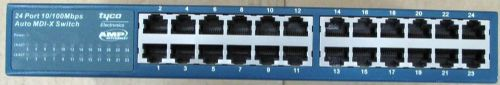 Tyco Electronics AMP Netconnect 24-port 10/100 Switch